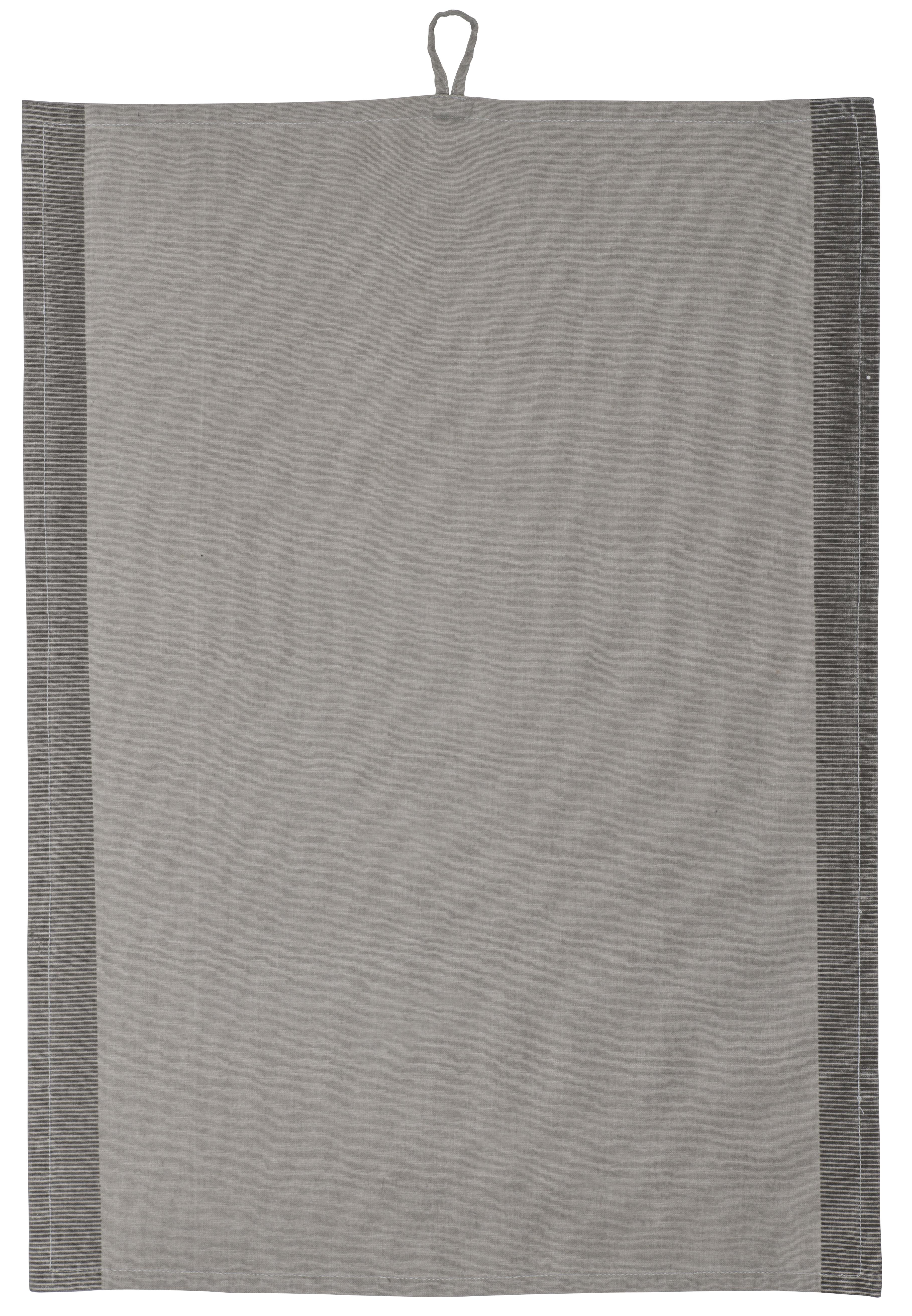 Schlichtes graues Geschirrhandtuch von IB Laursen aus 100% Baumwolle