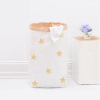 Wir lieben sie! Paperbag mit goldenen Sternen von Eulenschnitt